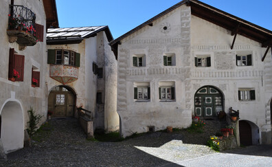 Musée de Basse-Engadin, vieille ville de Plaz