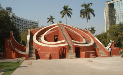 Jantar Mantar, a peculiar observatory