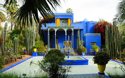 Marrakech on sunny days