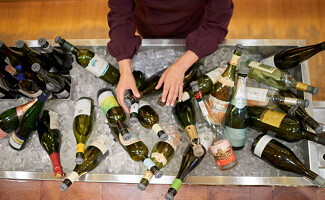 Trendy wine bars