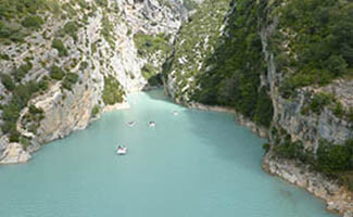 Walks and sport around the Gorges du Verdon