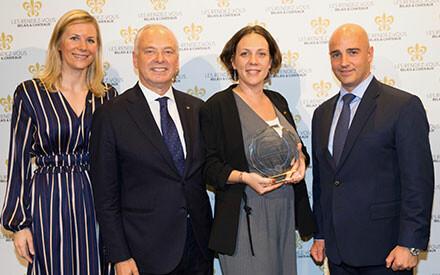 Hennessy Passion Trophy : Geneviève et Jean-André Charial, Baumanière Hôtel & Spa, Le Prieuré Baumanière, France