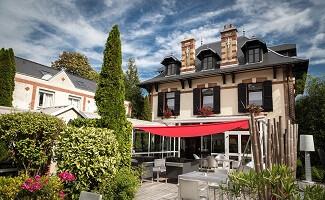 Déjeuner à L'Assiette Champenoise, Tinqueux