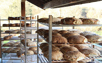 The bread at Moulin de Hollange