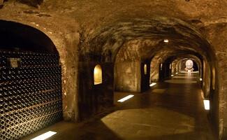 L'origine de nos champagnes : les caves Moët & Chandon