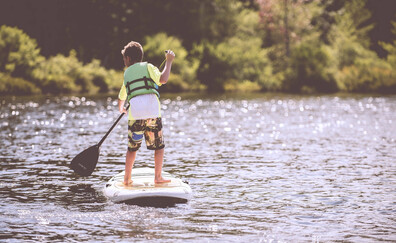 An introduction to standup paddleboarding (La Croix Valmer)