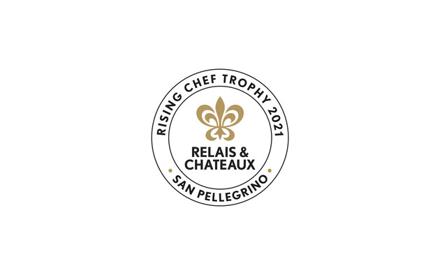 "Relais & Châteaux and Acqua Panna & San Pellegrino award the ""Rising Chef 2021"" trophy to Xavier Beaudiment, chef of the restaurant Le Pré in Durtol, France"