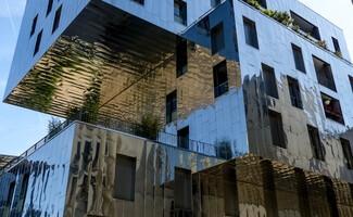 Urbanes Flair im Ökoviertel Confluence von Lyon