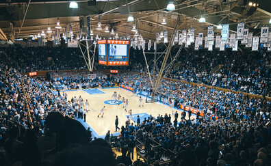 Attend a college basketball game at prestigious Duke University