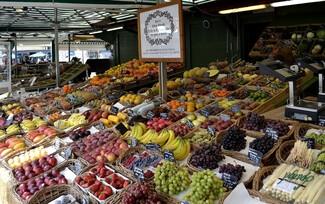 Viktualienmarkt Market in Munich