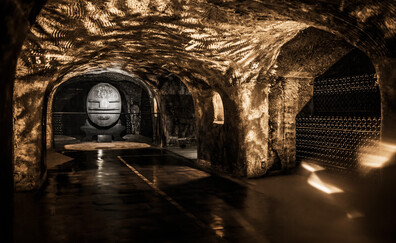 The Moët & Chandon cellars (Epernay)