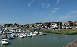 The port of Étaples