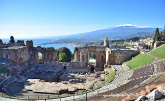 Attend a concert at the Teatro Greco (Taormina)