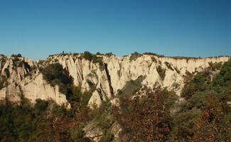 Pyramides de sable de Melnik : site naturel classé