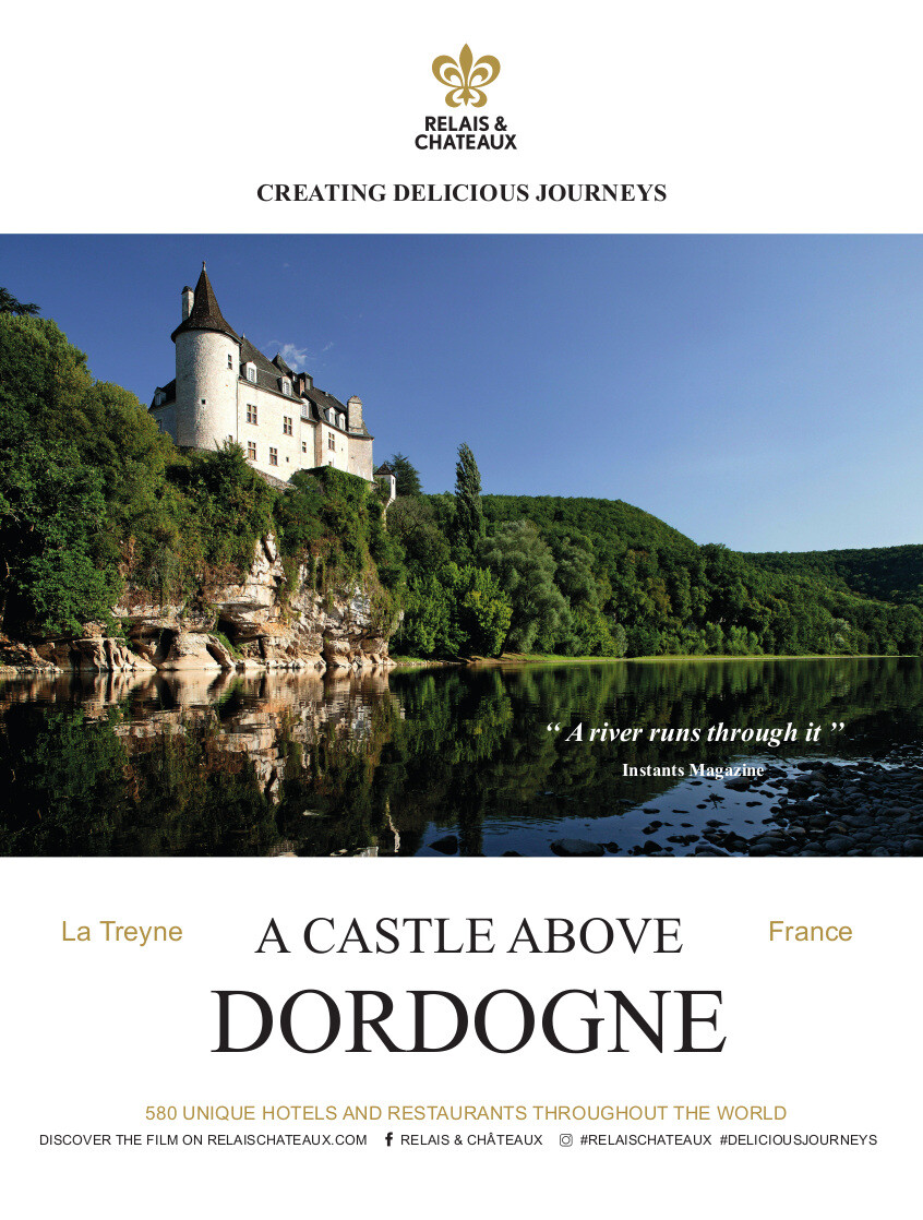 A castle above Dordogne