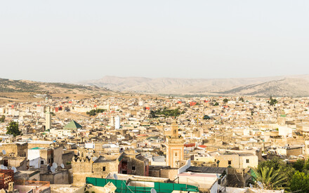 Hideaway from the hustle and bustle of the medina