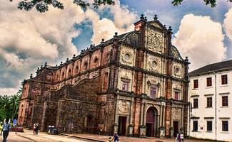 Die Basilika Bom Jesus de Velha Goa