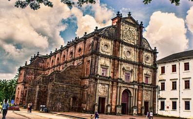 Basilica of Bom Jesus of Velha Goa