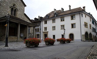 Restaurant Le Cerf, Cossonay-Ville