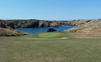 Belle-Ile golf course