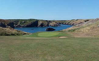 Belle-Ile golf course