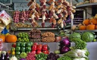 Le marché de Surquillo, Lima