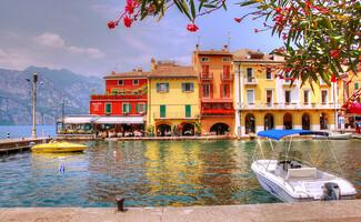 Para o prazer de navegar no Lago de Garda