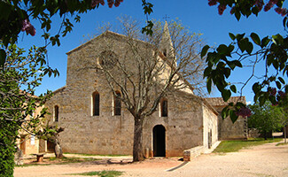 En el silencio de la abadía de Thoronet