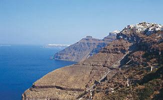 El puerto de Akrotiri
