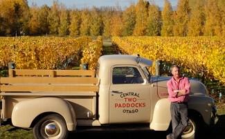 Ту Пэддокс - виноградник Сэма Нила, Центральный Отаго