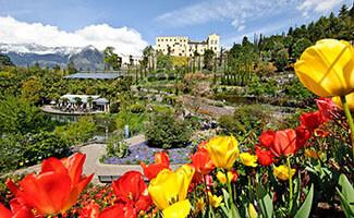Die Gärten von Schloss Trauttmansdorff, Merano