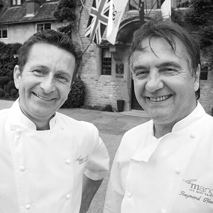 Raymond Blanc & Gary Jones