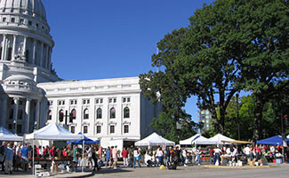 Farmers' Market, Madison, Wisconsin