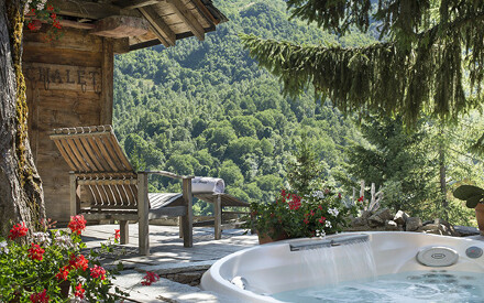 Wellness in den Bergen zwischen Savoyen und dem Mont Blanc