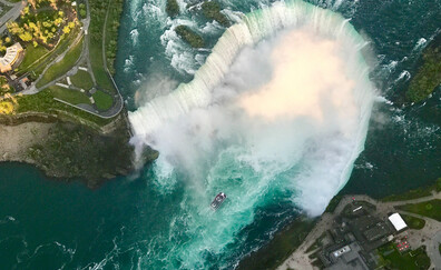 Admire Niagara Falls from the Canadian side
