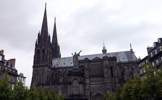 Clermont-Ferrand, pierre volcanique