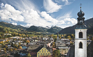The annual Grand Festival in the town of Kitzbühel