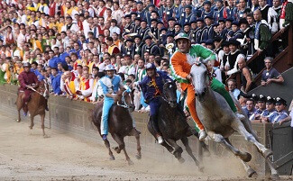 All the pageantry of Il Palio, Siena