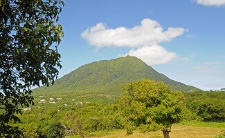 Getaway at the top of Nevis Island