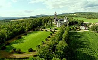 L'abbaye Saint-Benoît du Lac
