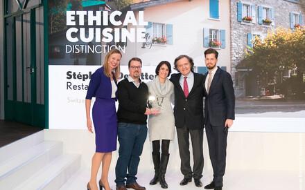Taittinger Ethical Cuisine Trophy :  Stéphane Décotterd, Restaurant Le Pont de Brent, Switzerland