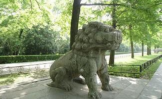 Tombeau de Ming Xiaoling, Nankin